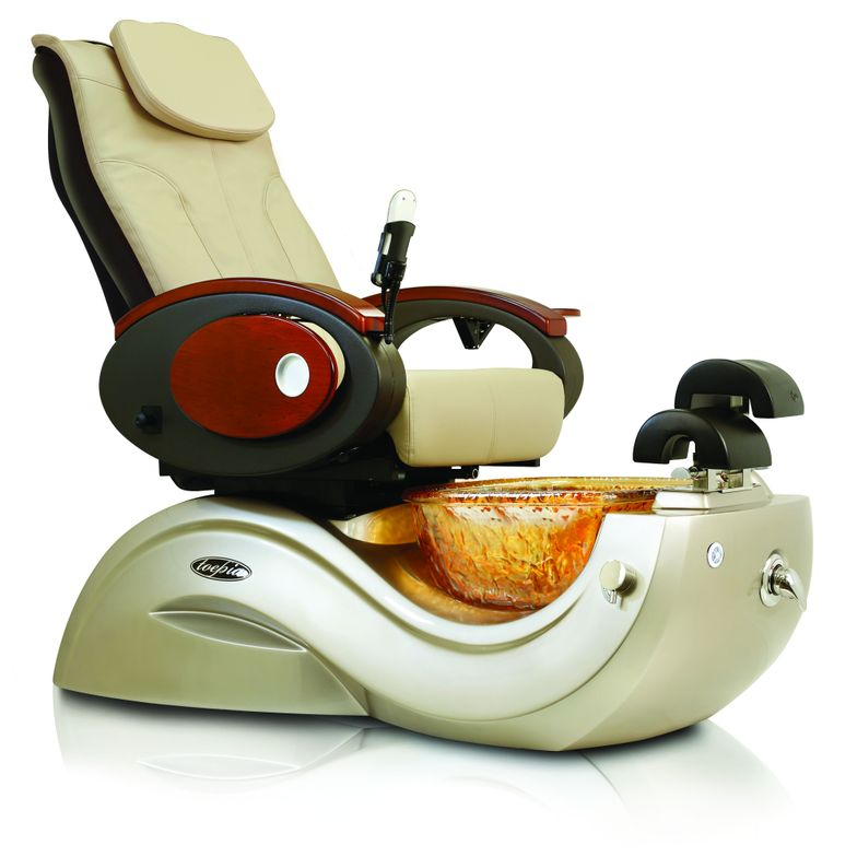 <p>J&amp;A USA's Toepia GX Pedicure Spa features fine upholstery, an elegant and durable glass bowl, and a flawless pipe-less whirlpool system.<br />www.jausainc.com</p>