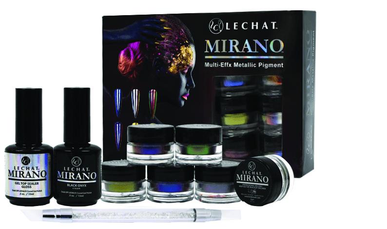 <p>LeChat<br />Mermaid chrome<br />www.lechatnails.com</p>