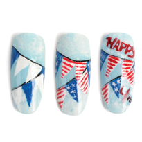 Nail Art Studio: Flags A-Flyin'