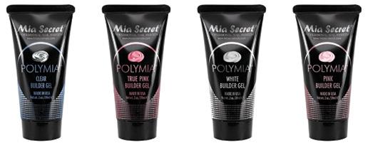 Mia Secret Polymia Gel Creates Light, Strong Enhancements