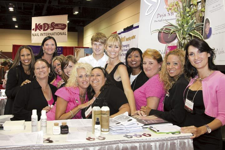 <p>Five-month-old company United Nails showed strength in nail techs for its Premiere Orlando debut.</p>
