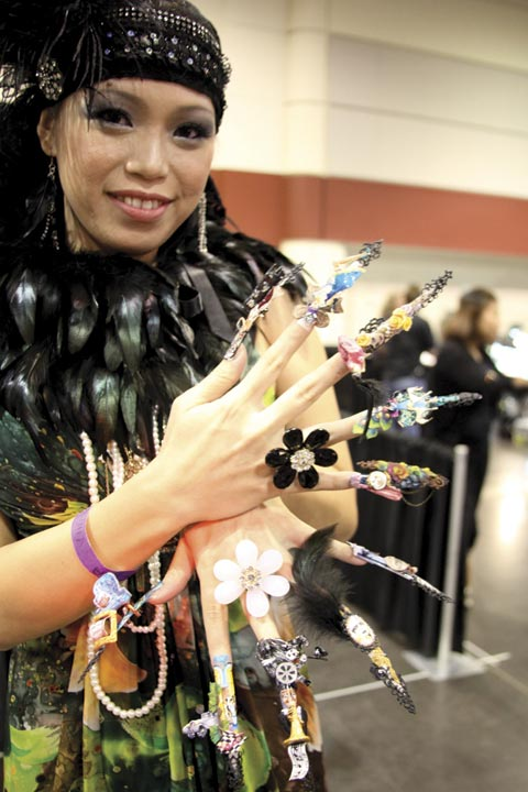 <p>Fantasy Nail Art Competition, Veteran Winner: Catherine Wong</p>