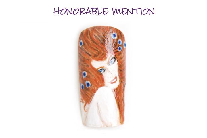 <p>Honorable Mention:&nbsp; <br />Vickie Chilla, Eustis, Fla. <br />&ldquo;La Frise Beethoven&rdquo; by Gustav Klimt</p>