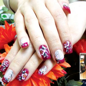 Flower Nail Art Blooms in Brooklyn