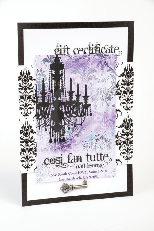 <p>Jae&rsquo;tte Burneo<br />Cosi Fan Tutte, Laguna Beach, Calif.<br />From how nail polish is presented to how boutique items are displayed, Jae&rsquo;tte Burneo is all about presentation details. It is no surprise then that her gift certificates are handmade with the same amount of affection and flair.</p>