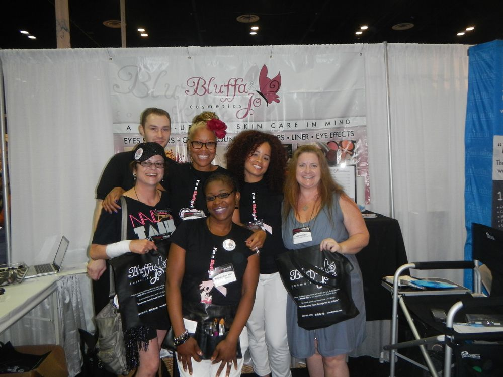 <p>Millie and Braden from Nail Talk Radio joined NAILS' Hannah Lee to check out Maisie Dunbar's makeup line, BluffaJo.</p> <p>&nbsp;</p>