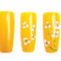 Simple Spring Nail Art Project for Students