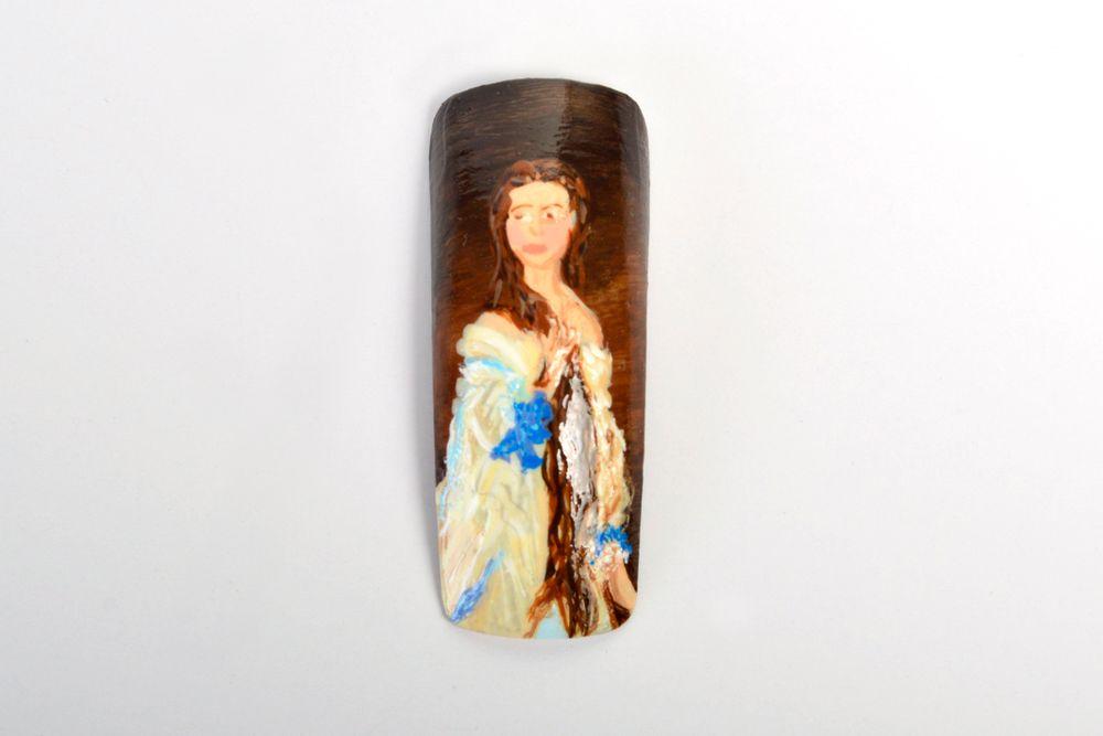 <p>Ashley Loveridge, Lords Valley, Pa.</p> <p>&ldquo;Portrait of Madame Rimsky-Korsakov&rdquo; by Franz Xaver Winterhalter</p>