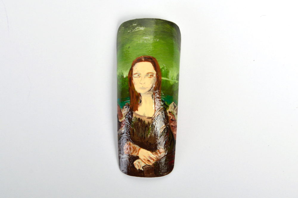 <p>Ashley Loveridge, Lords Valley, Pa.</p> <p>&ldquo;Mona Lisa&rdquo; by Leonardo da Vince </p>