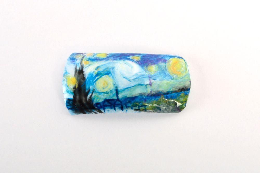 <p>Vonda Christensen, Booneville, Ark.</p> <p>&ldquo;Starry Night&rdquo; by Vincent Van Gogh</p>