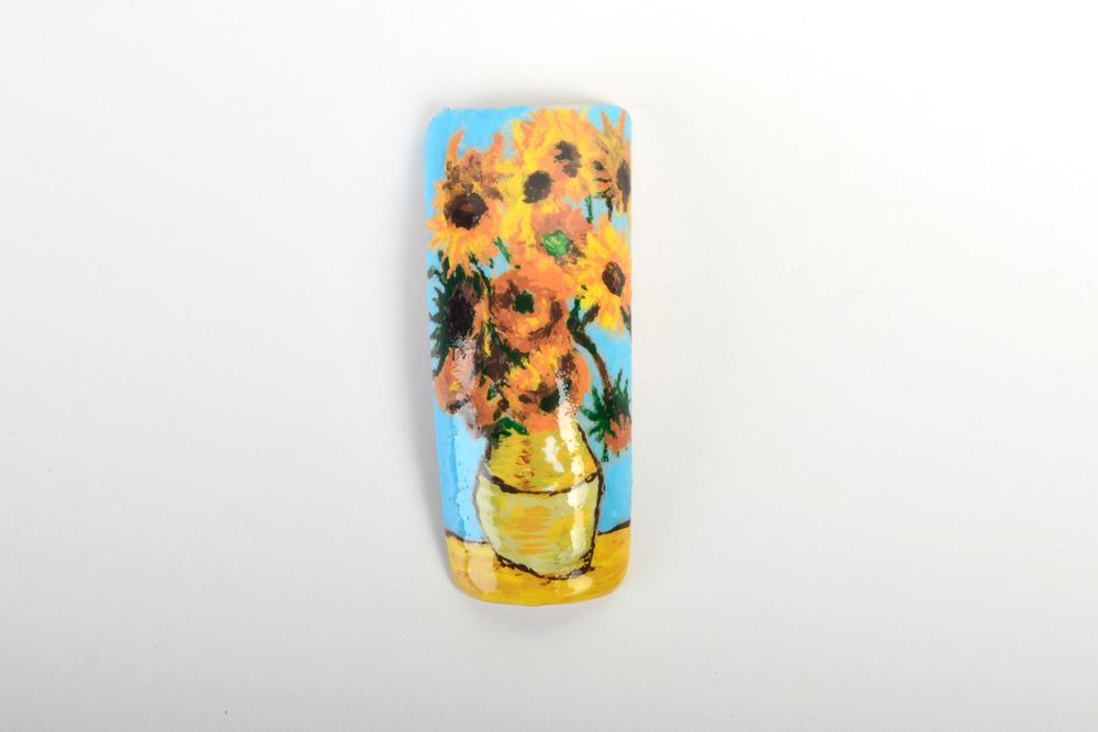 <p>Jodie Rahaley, Saylorsburg, Pa.</p> <p>&ldquo;Sunflowers&rdquo; by Vincent Van Gogh</p>