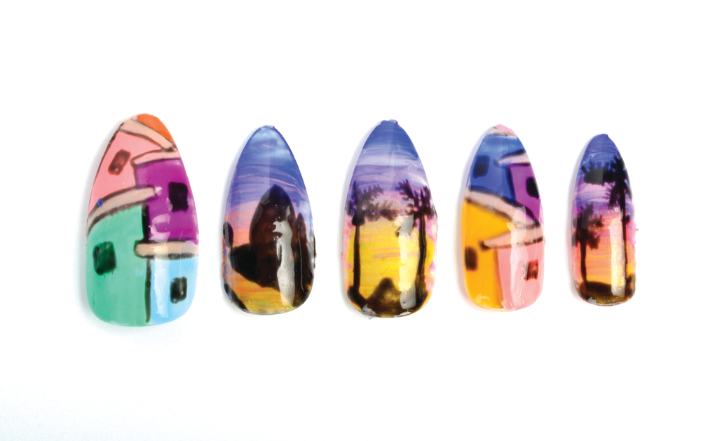 <p>Ellegra Davis, Jewels A Nail Box, Chicago<br />@nailsbylegs</p>