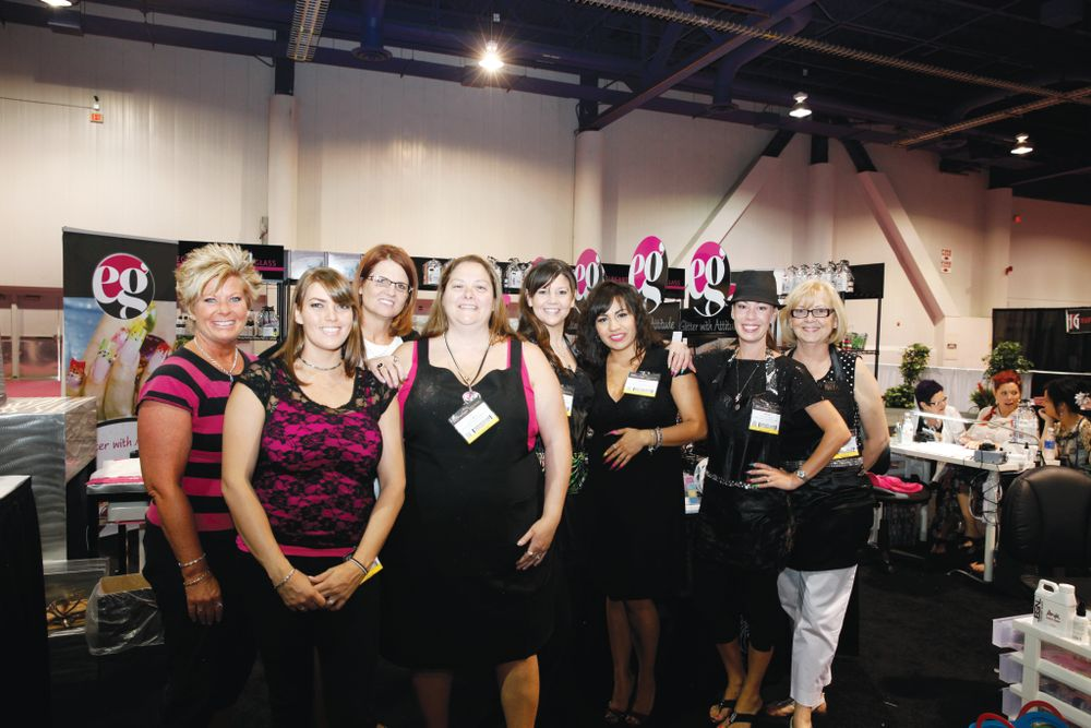 <p>The elegant educators at Elegant Glass unveiled a new booth with a new look and style.</p>