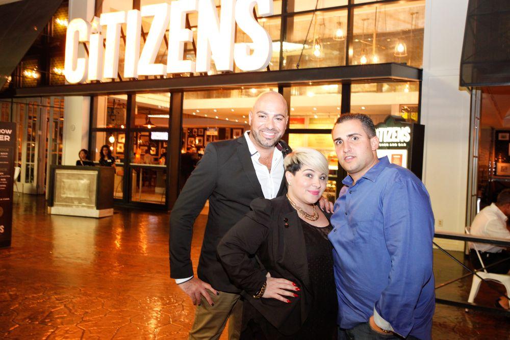 <p>Gino Trunzo, Naja Rickette, and David Anthony.</p>