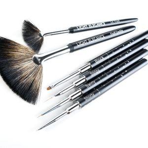 Light Elegance Presents Celina Ryden's Go-To Nail Art Brushes