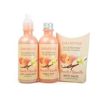 Peach Vanilla BodyRenew Collection