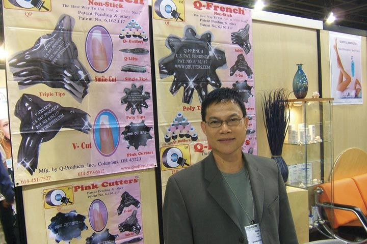 <p>President of Q-Products, Kevin Vo was in attendance to talk about his company&rsquo;s latest products.</p>
