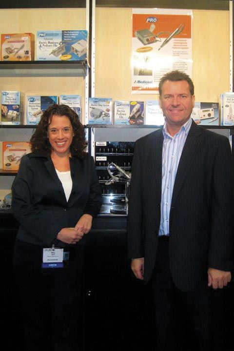<p>Medicool&rsquo;s Mary Davis and Steve Wallace talked about the company&rsquo;s new 2-way Carbide Bits.</p>