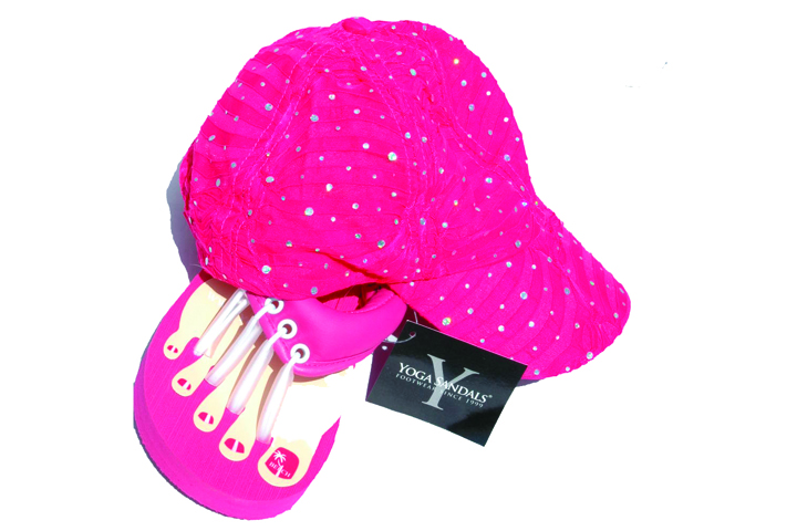 """<p>Giving a portion of the proceeds from each package to the &shy;Susan G. Komen Foundation, <a href=""""http://www.yogasandals.com/wholesale"""">Beech Sandal Co</a>. is offering its Pink Pedicure Sandals and Pink Glitter Hat for 50% off to spas and &shy;salons. The company suggests selling the items at the regular price and committing a donation to the foundation &mdash; on top of Beech Sandal&rsquo;s contribution. The items can be sold separately.</p>"""