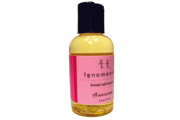"<p>Monthly breast exams are easy to do on your own with <a href=""http://www.bathbybettijo.com"">Bath By Bettijo&rsquo;s</a> Fenomenole, an all-natural oil blend of pure pink grapefruit essential oil made specifically to remind women to perform monthly self-breast exams. During the month of October Bath By Bettijo will donate 25% of the proceeds from the sale of Fenomenole to the American Cancer Society.</p>"