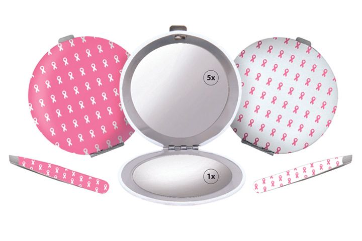 "<p>In this collection from <a href=""http://www.spilo.com"">Spilo Worldwide&rsquo;s</a> Toolworx by Personna, 2.5-in. Mini Tweezers and a coordinating Compact Mirror will support Expedition Inspiration through a portion of the proceeds from each product sold. The mirror is both a 1X and 5X magnification mirror. The items are available separately in either pink with white breast cancer awareness ribbons or in white with pink ribbons.</p>"