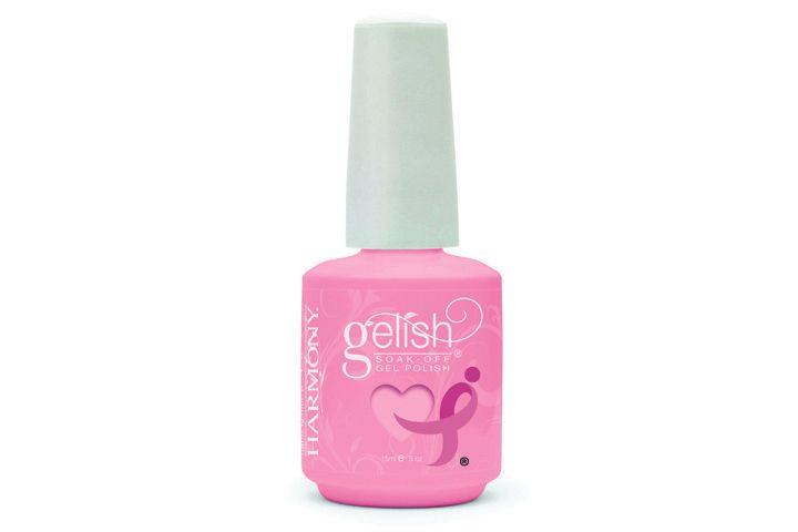 "<p><a href=""http://www.nailharmony.com"">Hand &amp; Nail Harmony</a> is making a difference with three Gelish custom colors for Breast Cancer Awareness: Less Talk, Take &shy;Action, and Make a Difference. The company is donating a &shy;percentage of the proceeds from the sale of each specially marked bottle to Susan G. Komen for the Cure with a guaranteed minimum donation of $25,000.</p>"