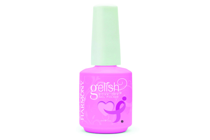 """<p><a href=""""http://www.nailharmony.com"""">Hand &amp; Nail Harmony</a> is making a difference with three Gelish custom colors for Breast Cancer Awareness: Less Talk, Take &shy;Action, and Make a Difference. The company is donating a &shy;percentage of the proceeds from the sale of each specially marked bottle to Susan G. Komen for the Cure with a guaranteed minimum donation of $25,000.</p>"""