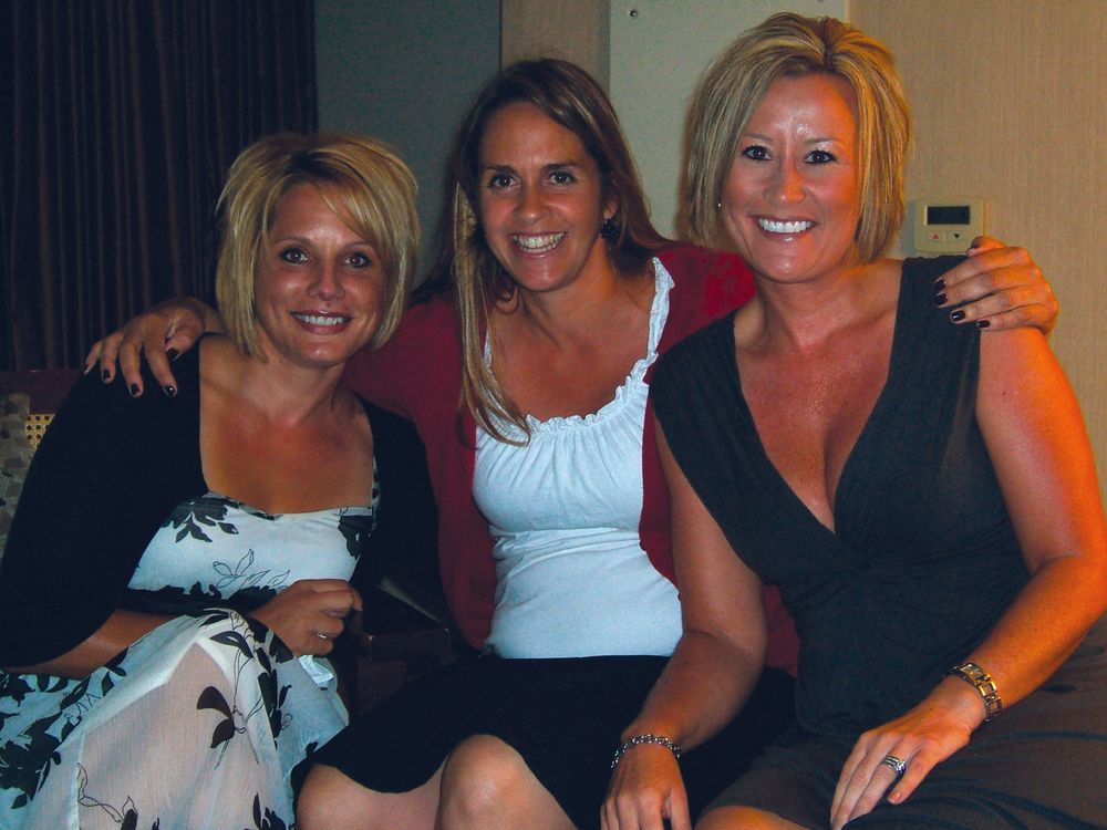 <p>European Touch&rsquo;s Sheila Newkirk and Dawn Holz with NAILS&rsquo; Mary Baughman (center)</p>