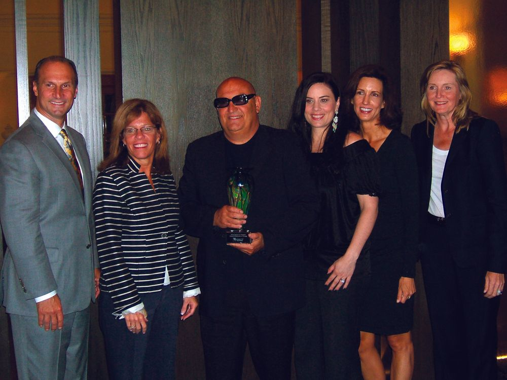 <p>Star Nail received a Partners in Progress award from Sally Beauty at the distributor&rsquo;s annual breakfast. From left to right are Sue Davidson, Sally Beauty group vice president of merchandising; Tony Cuccio, CEO of Star Nail; Elaine Watson, Star Nail vice president of marketing and sales and director of education; Christina Jahn, Star Nail director of marketing; and Linda Voracek, Sally Beauty senior director of nail products.</p>
