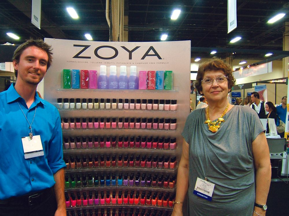 "<p><span style=""font-size: xx-small;""><span lang=""EN""> <p align=""left"">NAILS senior editor Tim Crowley got a chance to discuss polish trends &mdash; and music &mdash; with Zoya&rsquo;s own Zoya Reyzis.</p> </span></span></p>"