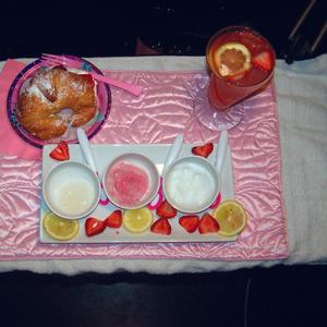 Strawberries & Cream Spa Pedicure
