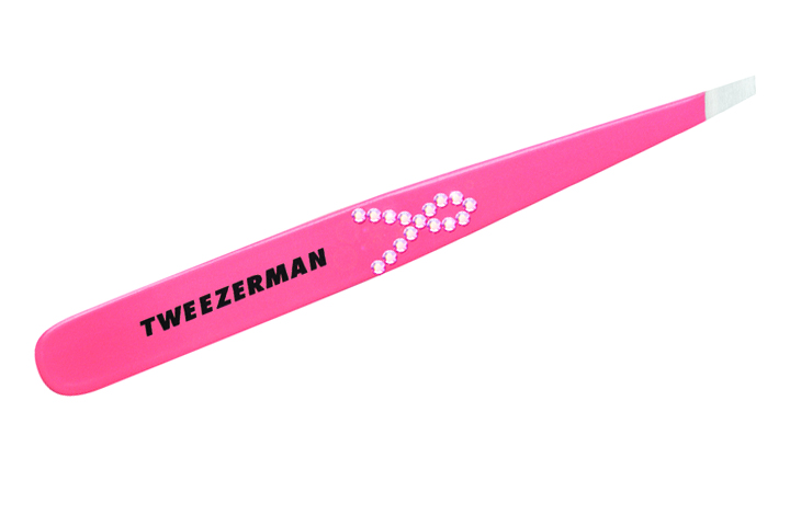 "<p class=""sidebar-WhitneyBASICTEXT""><strong>Tweezerman</strong> has available the limited edition Precision in Pink slant tweezer for breast cancer awareness this year. The tweezers have a pink enamel color finish and has a ribbon on the side designed with pink Swarovski crystals. A portion of the proceeds from the sale of each of these tweezers will go to the Susan G. Komen Foundation and the CEW Cancer and Careers organizations as well as other charities throughout the U.S.</p> <p class=""sidebar-WhitneyBASICTEXT""><a href=""http://www.tweezerman.com"">www.tweezerman.com</a></p>"