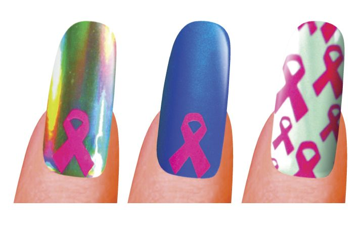 "<p class=""sidebar-WhitneyBASICTEXT""><strong>Minx</strong> has three breast cancer awareness designs. One is a pink ribbon on a metallic blue background, another is a pink ribbon on a silver background, and the third is a pattern of multiple pink ribbons on a silver background. For each design sold, Minx donates $5 to the Breast Cancer Research Foundation.</p> <p class=""sidebar-WhitneyBASICTEXT""><a href=""http://www.minx.com"">www.minx.com</a></p>"