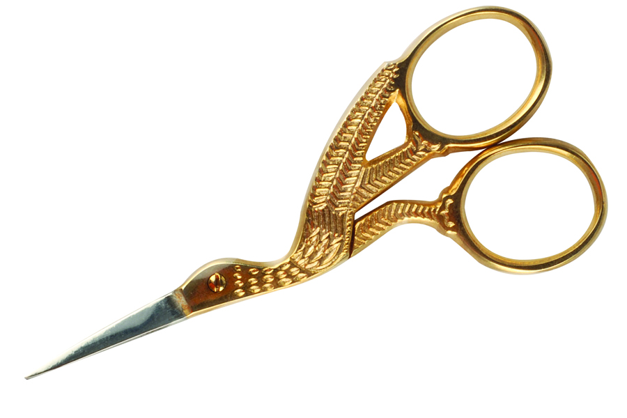 "<p><a href=""http://www.allseasonnails.com"">All Season&rsquo;s Nails&rsquo;</a>&nbsp; Gold Stork Scissors are great for cutting fabric such as silk or fiberglass for nail wraps. The easy-to-<br />use small convention scissors <br />fit in any carrying case and have a fun design of a stork, which originated in the embroidery industry.</p>"