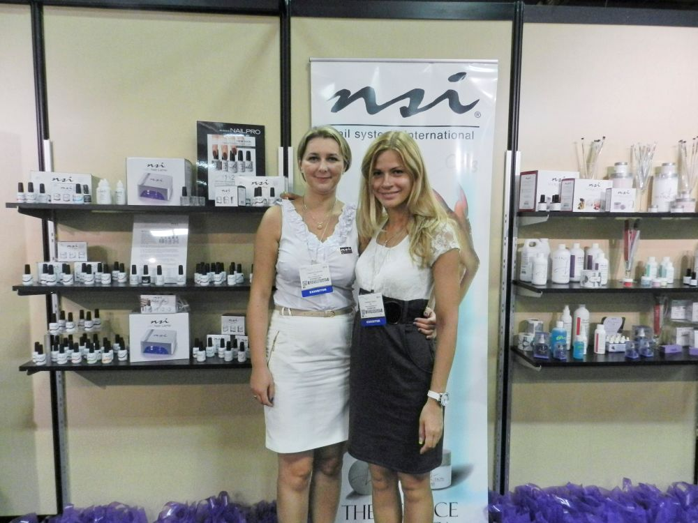 <p>President of NSI Eastern Europe Grazyna Brylowska with Anastasia Luksha, an NSI educator.</p>