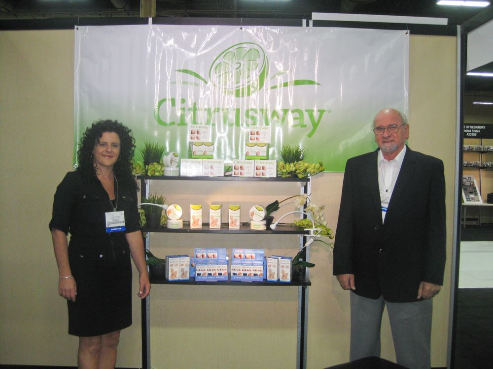 "<p class=""normal"">Virginia and Ian Ramsey explain the benefits of natural fungus treatment Citrusway.</p>"