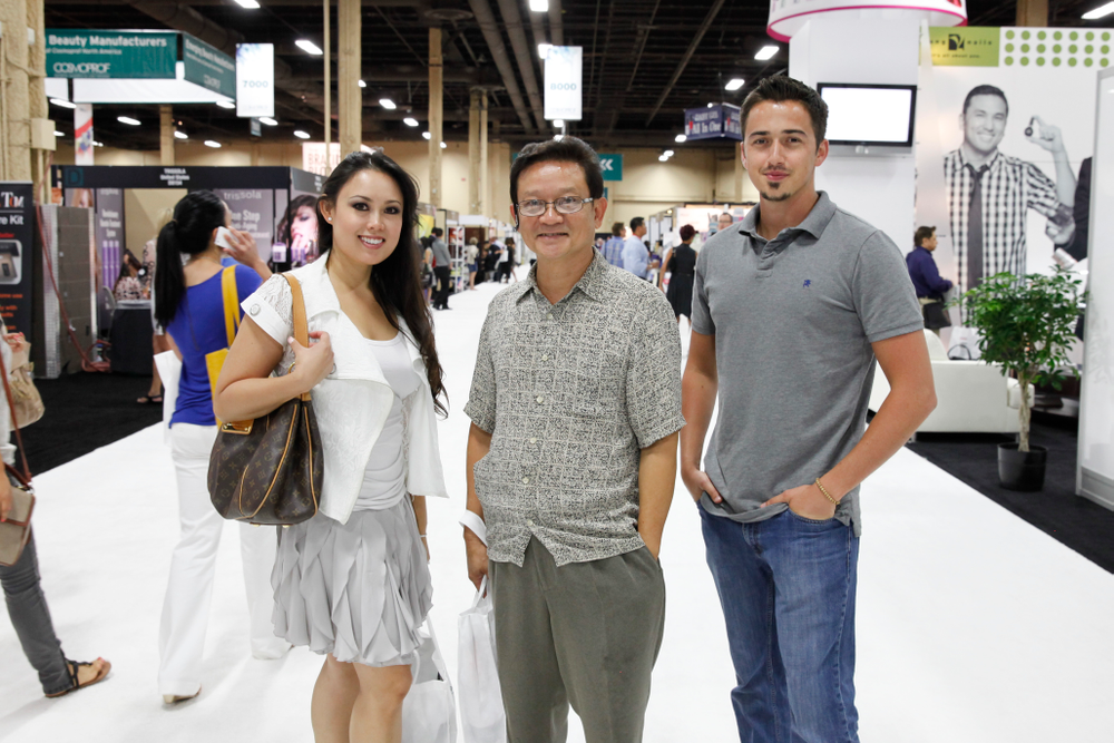 <p>Spotted on the show floor: Lexor&rsquo;s Jennifer Nguyen, Quang Nguyen, and Kyle Edelmaier spent a day walking the show.</p>