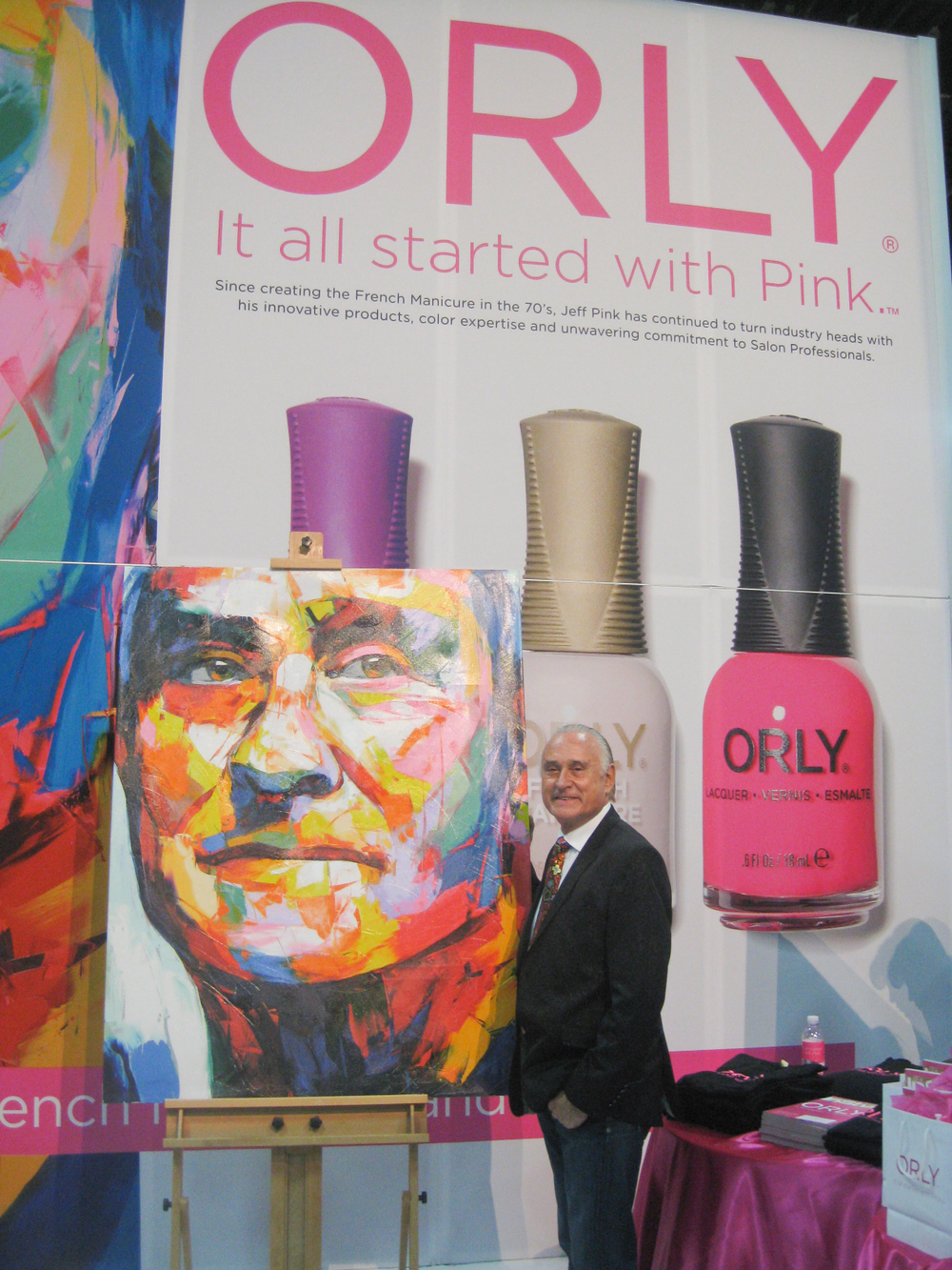 <p>Orly&rsquo;s Jeff Pink invented the French manicure and is recognized for his many contributions to the industry during the show. &ldquo;They say, &lsquo;It all started with Pink. I say, &lsquo;It all started with you,&rsquo;&rdquo; Pink told the crowd.</p>