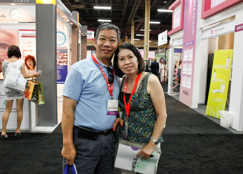<p>Queen Nails &amp; Spa&rsquo;s Phuoc Dam and his wife Hong Anh drove in from Westminster, Calif., for a day of sightseeing at Cosmoprof.</p>