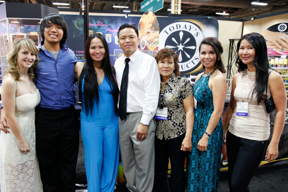 <p>Today&rsquo;s Products represented in full force with Veronica Smigielski, Taylor Ta, Christine Tran, Tony Ta, Ann Nguyen, Nancy Tran, and Sherina Tran.</p>