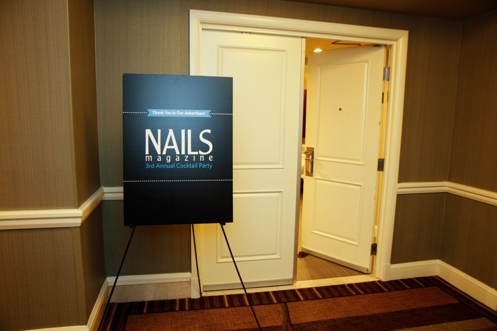 <p>From show floor to the suite door...NAILS' Cocktail Party</p>
