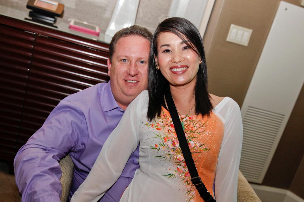 <p>Husband and wife team Ron Harris and Ngan Tran</p>