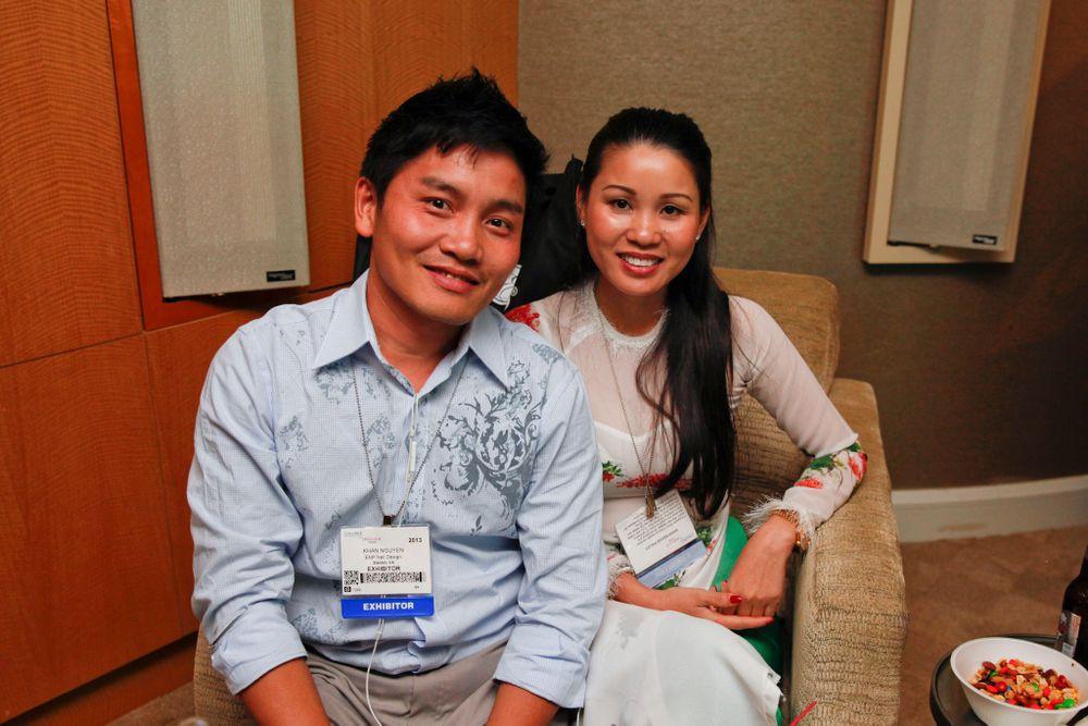 <p>ENP's Khan Nguyen and Ngan Tran</p>