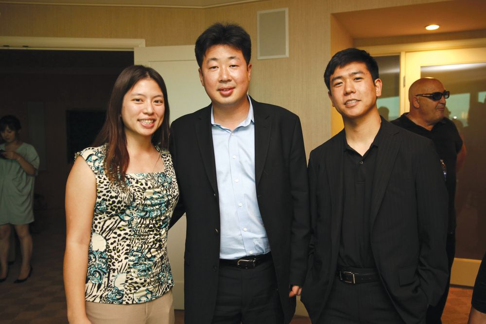 <p>NAILS&rsquo; Kim Pham, J&amp;A&rsquo;s Mike Ahn, and SalonPOS&rsquo; Albert Kim</p>