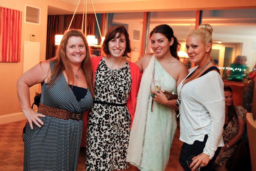<p>NAILS' Hannah Lee, Brittni Rubin, Beth Livesay, and reality TV star Katie Cazorla</p>