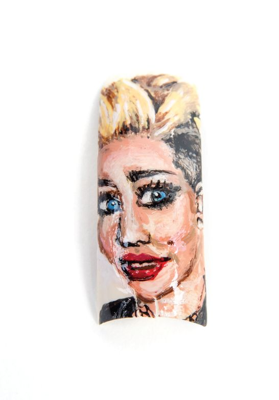 <p>Miley Cyrus by Alice Crammer, Trenton, N.J.</p>