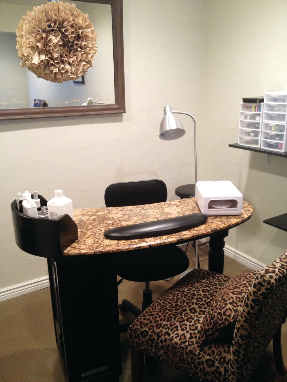 <p><strong>Emily Meyers, After Hours Salon, Eagle Mountain, Utah</strong><br />@afterhourssalon<br />I love my little salon. I get to work from home and set my own hours. My clients love the homey feel; it&rsquo;s like a little sanctuary!</p>