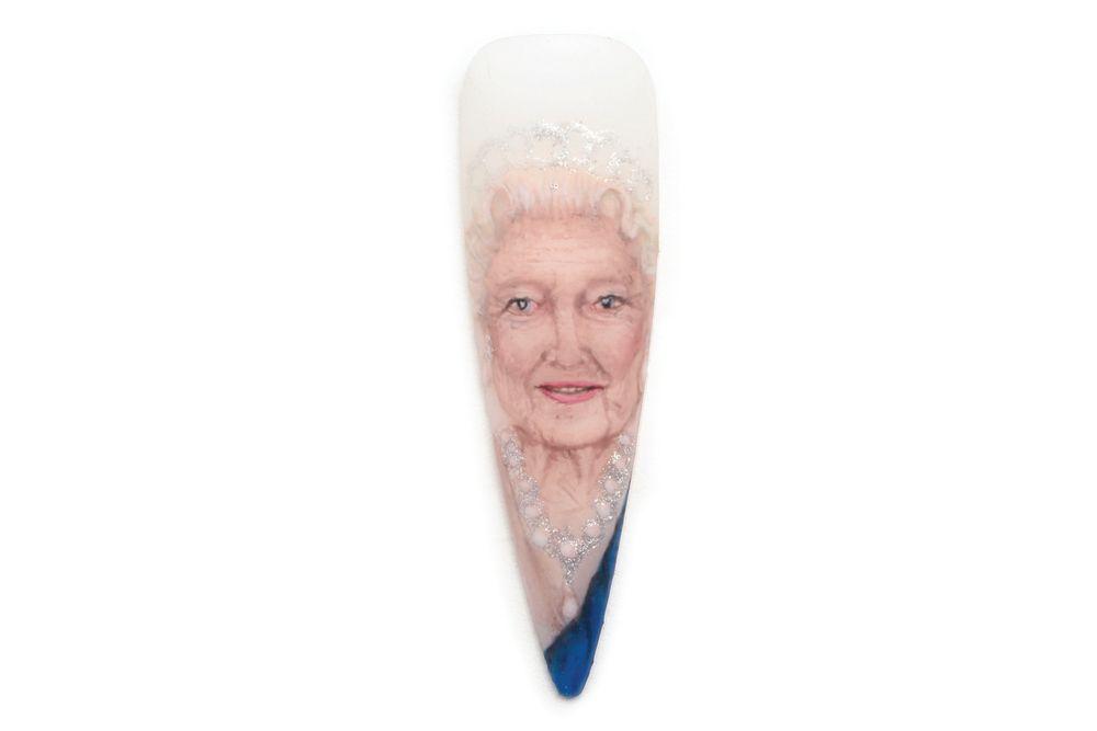 <p>Queen Elizabeth II<br />Beth Elliott,<br />Welwyn Garden City, England</p>