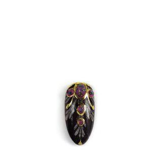 Antique Amulet Nail Art Design