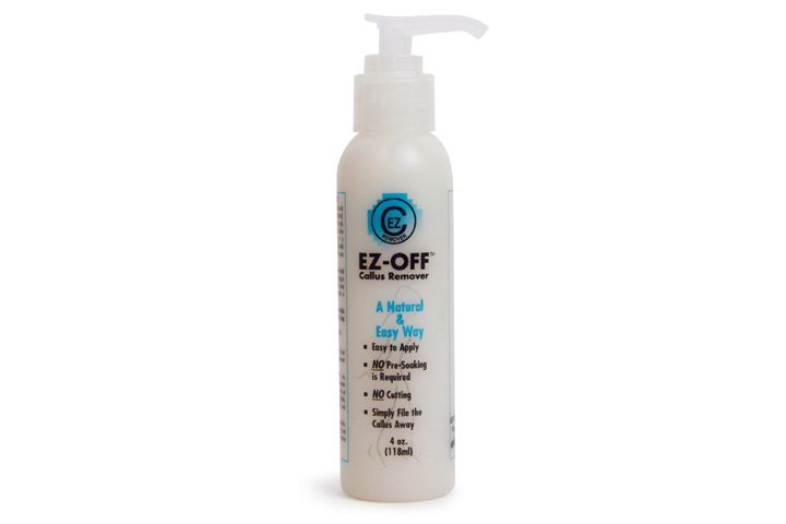 """<p><a href=""""http://estelinas.com/"""">Estelina&rsquo;s</a> EZ-Off Callus Remover is a natural and easy way to remove callus. No pre-soaking is required for this formula, which uses natural ingredients. Apply a small amount to the affected area. Leave on for five minutes, then use a foot file to file the callus away. More severe callus can sometimes use a second treatment. The remover is gentle on skin and safe to handle with hands as you apply it.</p>"""